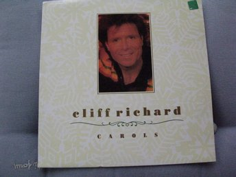 CLIFF RICHARD -  CAROLS    WORD  LP  1988   JUL MED CLIFF!
