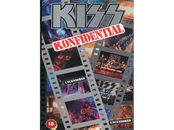 Kiss -Konfidential vhs Official UK Pal version. Label vers 2