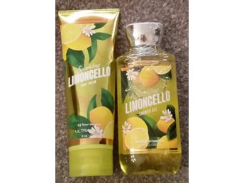 SPARKLING LIMONCELLO Bath & Body Works Body Cream 226ml & Shower Gel 295ml USA