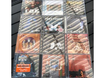 HIP HOP 90-TALS Paket #5 (12-CD) Tony Touch/Redman/Snoop Dogg/Tha Liks/MC Eight