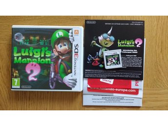 Nintendo 3DS: Luigi's Luigis Mansion 2