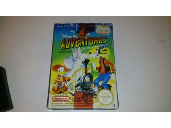 - Adventures in the Magic Kingdom SCN Svensksålt Komplett Nes 8Bit -