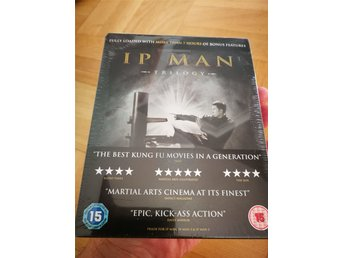 IP MAN TRILOGY --LIMITED EDITION STEELBOOK