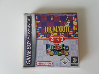 Dr. Mario & Puzzle League Komplett (GBA/Gameboy Advance)