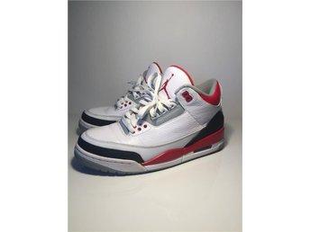 "Air Jordan Retro 3 ""Fire red"" - Nykvarn - Air Jordan Retro 3 ""Fire red"" - Nykvarn"