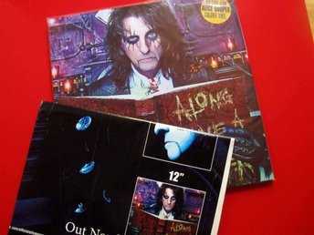 Alice Cooper – Along Came A Spider Clear Vinyl & Giant Promo Poster - Basel - Alice Cooper – Along Came A Spider Clear Vinyl & Giant Promo Poster - Basel
