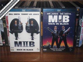 MEN IN BLACK I & II - Will Smith, Tommy Lee Jones *UTGÅTT* - Svensk text - åmål - MEN IN BLACK I & II - Will Smith, Tommy Lee Jones *UTGÅTT* - Svensk text - åmål