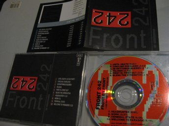 Front 242	Front by Front France RRE Orginal CD release 1988 - Jönköping - Front 242	Front by Front France RRE Orginal CD release 1988 - Jönköping