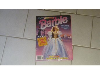 Barbie serietidning nr:11 1997 barbie festival party tips utrop 5kr.