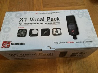sE Electronics X1 Vocal Pack studiomikrofon NY!!