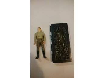 Star Wars vintage Han Solo + Carbonite