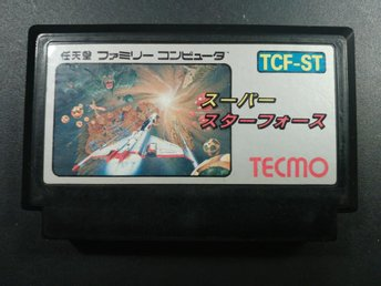 Super Star Force till Famicom - Shoot'em'up