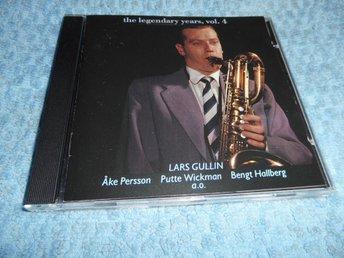 Lars Gullin - Legendary Years Vol 4 (CD) NM/EX - Göteborg - Lars Gullin - Legendary Years Vol 4 (CD) NM/EX - Göteborg