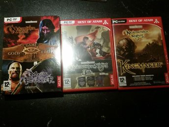 Neverwinter Nights 1 + 2 + expansioner