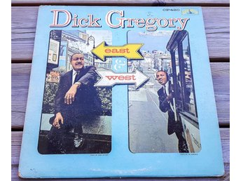 Vinyl LP Dick Gregory – East & West, Colpix Records – CP420, US 1961