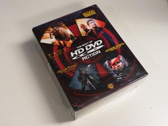 THE BEST OF HD DVD: ACTION (HD DVD) 4-film box. Ny inplastad