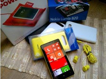 Nokia Lumia 820 Nära nyskick Nokia fatboy med mera - Bonus vid Köp-Nu - Nacka - Nokia Lumia 820 Nära nyskick Nokia fatboy med mera - Bonus vid Köp-Nu - Nacka