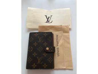 Louis Vuitton Agenda LV Monogram Orginalkvitto  Dustbag