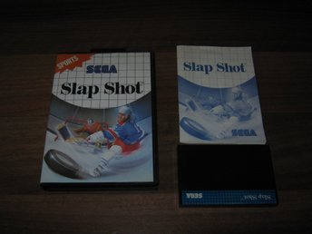 SEGA MS/USA: Slap Shot - (komplett)