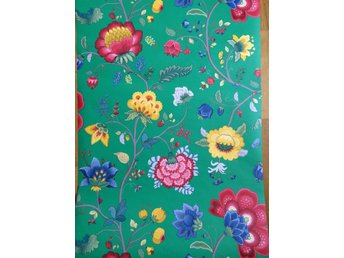 Tapet Pip Floral Fantasy Green