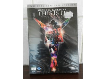 DVD Michael Jackson This is it O-öppnad