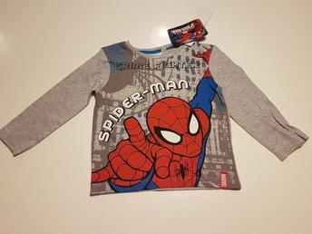 Javascript är inaktiverat. - Hbg - Snygg Långärmad tröja med Spiderman / Spindelmannen100 % officiellt licensierad100 % bomull Se gärna våra övriga annonserSamfrakt 1 kg=58 2 kg 67 etc etc - Hbg