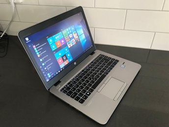 HP EliteBook 840 G3 Core i5 6200U 2.4Ghz 8GB DDR4 128GB SSD FullHD 3 Års Garanti