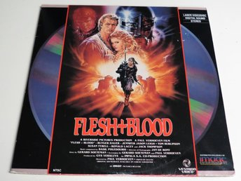 FLESH AND BLOOD (Laserdisc) Rutger Hauer