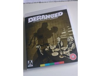 Deranged blu-ray + dvd