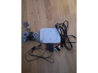 PS1 Basenhet med handkontroll playstation 1, psone