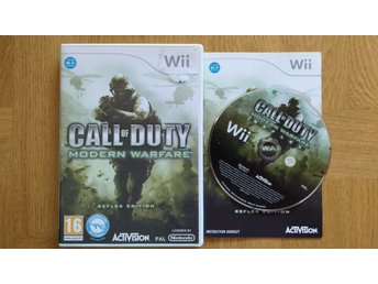 Nintendo Wii: Call of Duty Modern Warfare Reflex