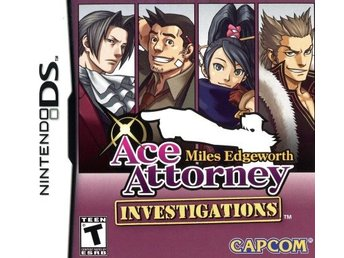 Miles Edgeworth Ace Attorney: Investigations (USA) (Beg)