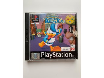 Kalle Anka Ouack Attack PlayStation PSone