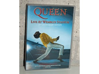 SOM NY! Queen - Live at Wembley Stadium (25th Anniversary Edition, 2-DVD set)