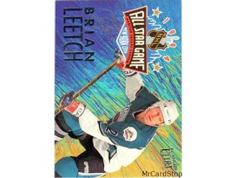 Ultra 1994-95 All-Stars 2 Brian Leetch New York Rangers