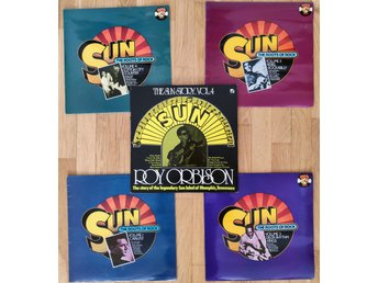 Sun roots of rock johnny cash roy orbinson howlin wolf blues  vinyl