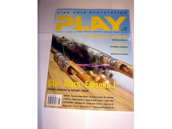 SUPER PLAY   HELT NY  JUN 1999  STAR WARS Ep. 1 - Special !!