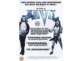 Story Of ANVIL - DVD - NY och Inplastad!  (Thrash, Metal, Metallica, SVENSK TEXT