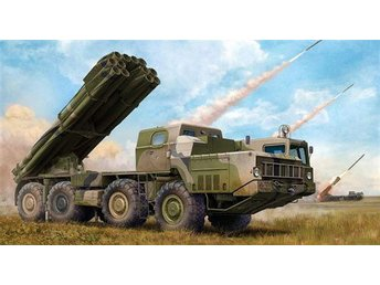 Trumpeter 1/35 Russian 95A52-2 Smerch-M Multiple Rocket Launcher