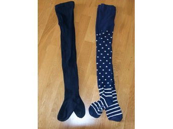 PO.P pop Polarn tights strumpbyxor 2 par