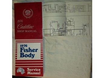 1976 Fisher Body manual till Cadillac, Chevrolet, Pontiac, Buick och Oldsmobile - Umeå - 1976 Fisher Body manual till Cadillac, Chevrolet, Pontiac, Buick och Oldsmobile - Umeå