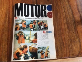 Motor 1972-12 MB 280 E..Cabby Nova 470..Renault 12 Kombi - Filipstad - Motor 1972-12 MB 280 E..Cabby Nova 470..Renault 12 Kombi - Filipstad