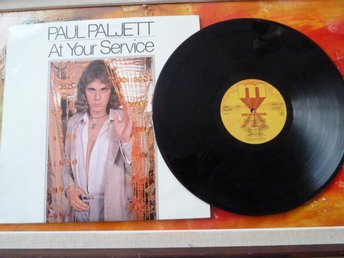 PAUL PALJETT, AT YOUR SERVICE, 1978, LP, LP-SKIVA