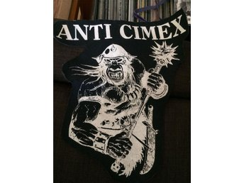 Anti Cimex (backpatch screentryck) punk