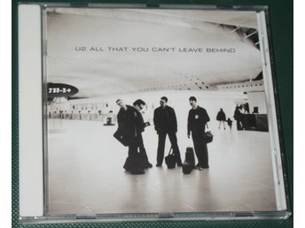 U2 – All That You Can't Leave Behind -- 2000 -- CD