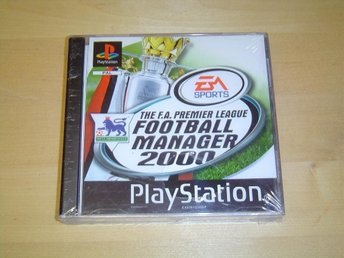FOOTBALL MANAGER 2000 TILL SONY PLAYSTATION *NYTT*