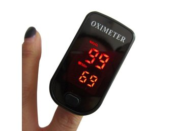 Pulsoximeter med LED-display