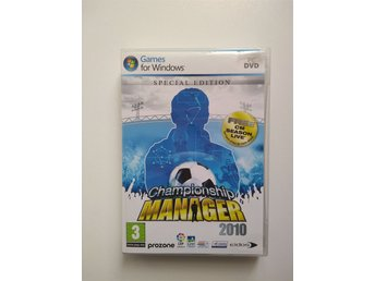 Championship Manager 2010, Special edition. PC spel.