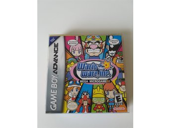 Wario Ware, Inc: Mega Microgame $ Komplett (GBA/Gameboy Advance)