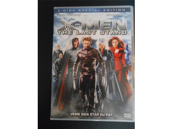 DVD: X-MEN, THE LAST STAND. Hugh Jackman, Halle Berry. 2 Disc utgåva.